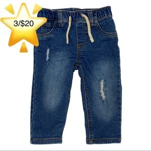 First Impressions Baby Boys Distressed Jeans 12m